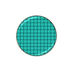 Turquoise Weave Golf Ball Marker 4 Pack (for Hat Clip)