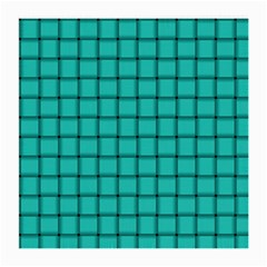 Turquoise Weave Glasses Cloth (medium, Two Sided)