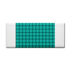 Turquoise Weave Hand Towel
