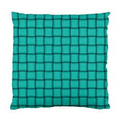 Turquoise Weave Cushion Case (Two Sides)