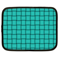 Turquoise Weave Netbook Case (XL)