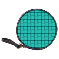 Turquoise Weave CD Wallet