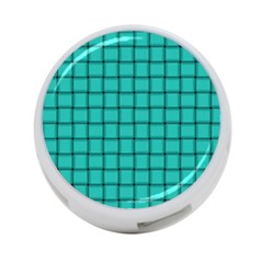 Turquoise Weave 4 Port Usb Hub (two Sides)