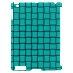 Turquoise Weave Apple iPad 2 Hardshell Case (Compatible with Smart Cover)