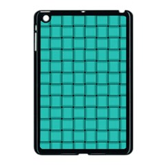 Turquoise Weave Apple iPad Mini Case (Black)