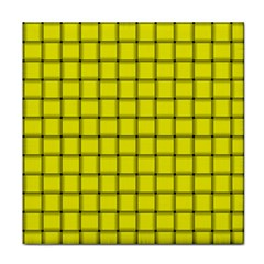 Yellow Weave Ceramic Tile