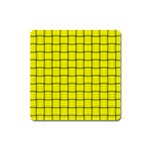 Yellow Weave Magnet (Square) Front