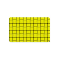 Yellow Weave Magnet (name Card)