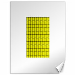 Yellow Weave Canvas 36  x 48  (Unframed)