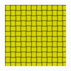 Yellow Weave Glasses Cloth (Medium, Two Sided)