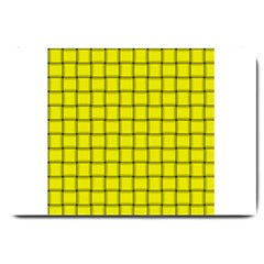 Yellow Weave Large Door Mat