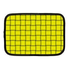 Yellow Weave Netbook Case (medium)