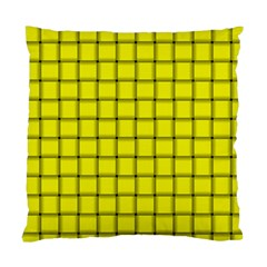Yellow Weave Cushion Case (Two Sides)