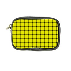 Yellow Weave Coin Purse