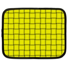 Yellow Weave Netbook Case (xl)