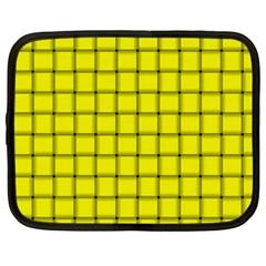 Yellow Weave Netbook Case (XXL)