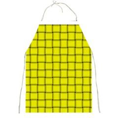 Yellow Weave Apron