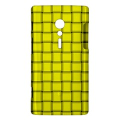 Yellow Weave Sony Xperia ion Hardshell Case