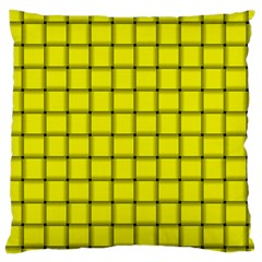 Yellow Weave Large Cushion Case (One Side)