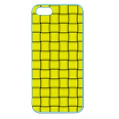 Yellow Weave Apple Seamless iPhone 5 Case (Color)