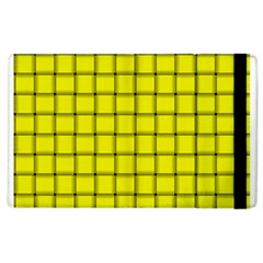 Yellow Weave Apple iPad 3/4 Flip Case