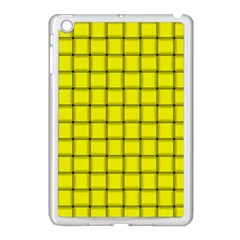 Yellow Weave Apple iPad Mini Case (White)