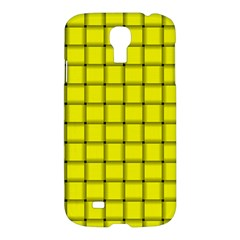 Yellow Weave Samsung Galaxy S4 I9500 Hardshell Case