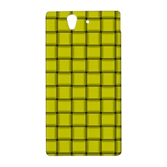 Yellow Weave Sony Xperia Z L36H Hardshell Case