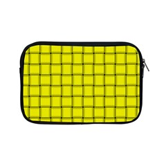 Yellow Weave Apple Ipad Mini Zipper Case