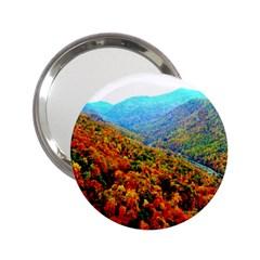 Through The Mountains Handbag Mirror (2.25 )