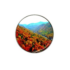 Through The Mountains Golf Ball Marker (for Hat Clip)