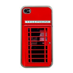 Phone Booth Apple iPhone 4 Case (Clear)