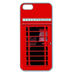 Phone Booth Apple Seamless Iphone 5 Case (color)