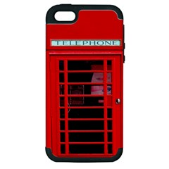 Phone Booth Apple iPhone 5 Hardshell Case (PC+Silicone)