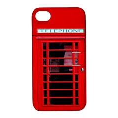 Phone Booth Apple iPhone 4/4S Hardshell Case with Stand