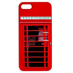 Phone Booth Apple Iphone 5 Hardshell Case With Stand