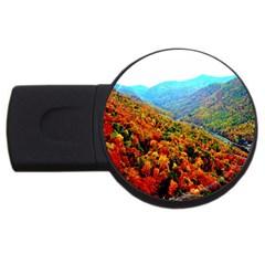Through The Mountains 2GB USB Flash Drive (Round)