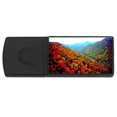 Through The Mountains 4GB USB Flash Drive (Rectangle)