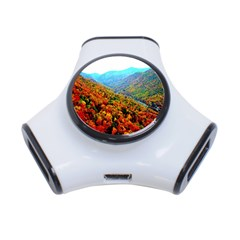 Through The Mountains 3 Port Usb Hub