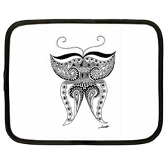 Butterfly Netbook Case (XL)