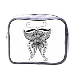 Butterfly Mini Travel Toiletry Bag (One Side)