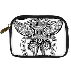 Butterfly Digital Camera Leather Case