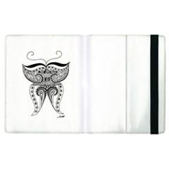 Butterfly Apple iPad 2 Flip Case