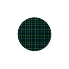 Lamont Tartan Golf Ball Marker 10 Pack