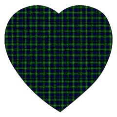 Lamont Tartan Jigsaw Puzzle (Heart)
