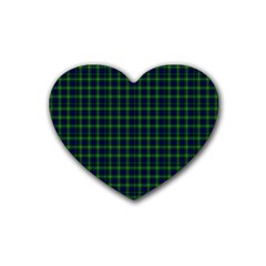 Lamont Tartan Drink Coasters 4 Pack (Heart)