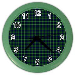 Lamont Tartan Wall Clock (color)