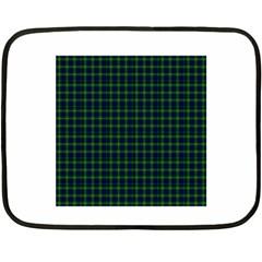 Lamont Tartan Mini Fleece Blanket (Two-sided)