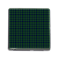 Lamont Tartan Memory Card Reader with Storage (Square)