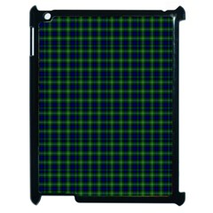 Lamont Tartan Apple iPad 2 Case (Black)